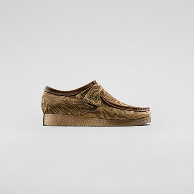 Wu Wear Wallabee Caramel