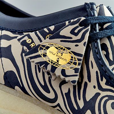 Wu Wear Wallabee - Azul y crema