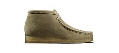 Wallabee boot Maple