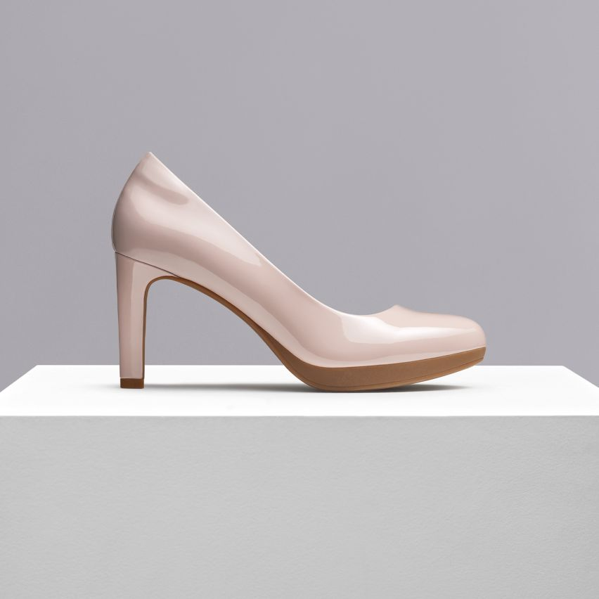 Shop womens heels- ambyr joy dusty pink