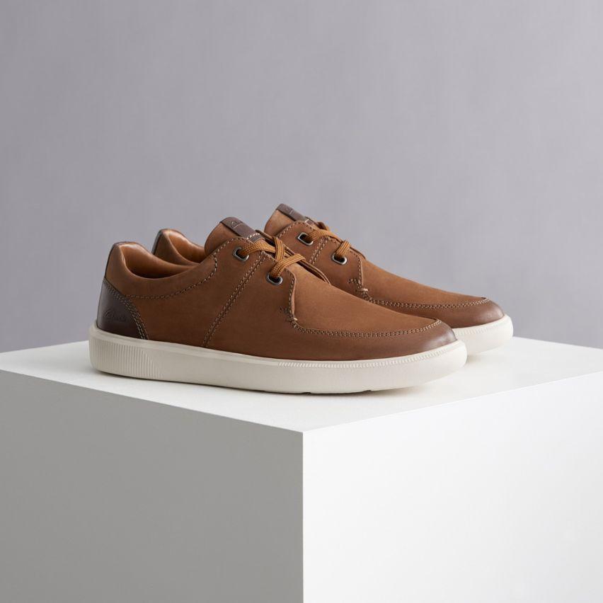 Shop mens sneakers- cambro lace dark tan