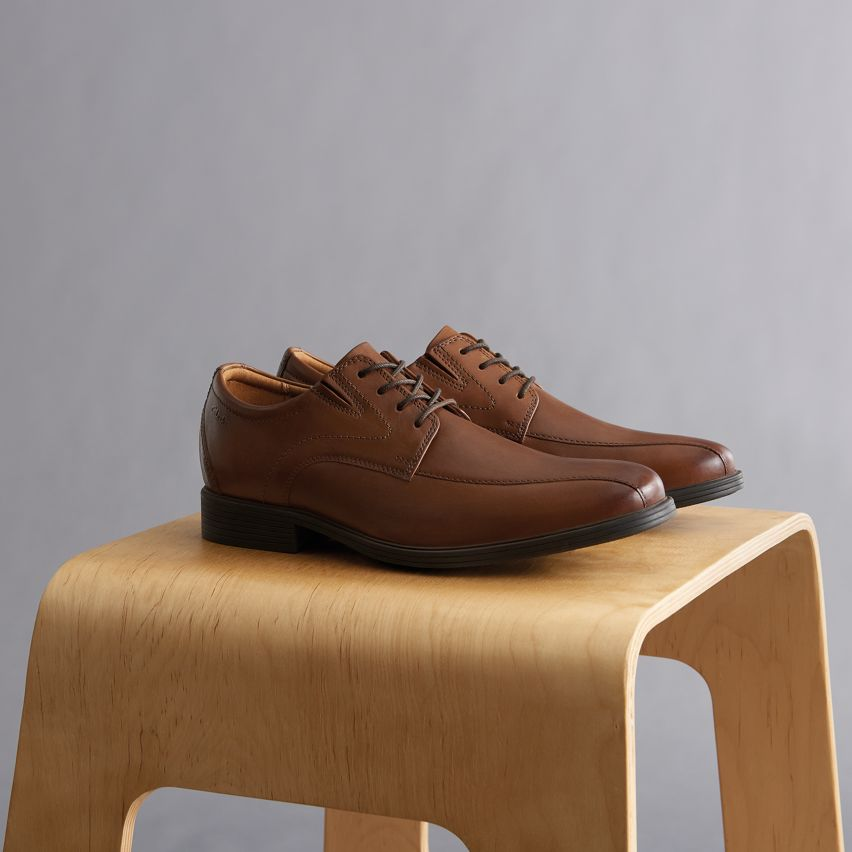 Shop mens dress casual styles- whiddon pace dark tan leather