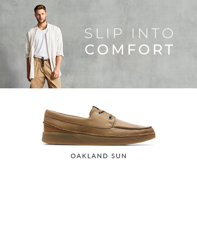 Clarks | Mens Summer Shop