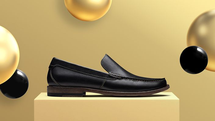 Image of Pace Barnes Black Leather