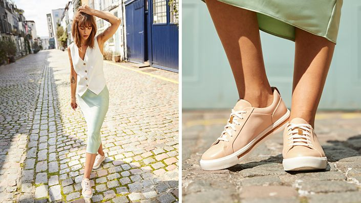 Womens Un Maui Step Sneaker