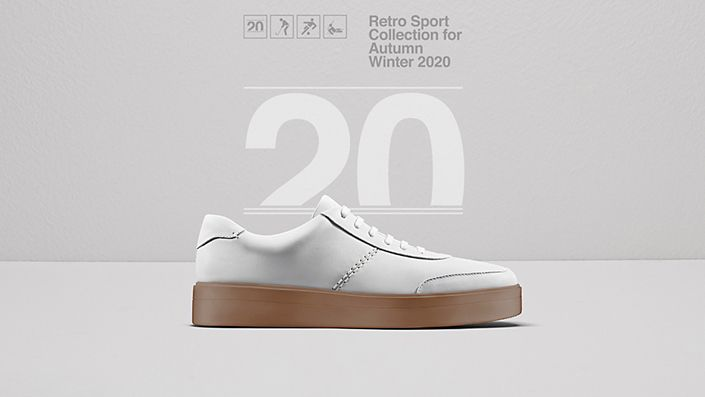 Womens Hero Walk Sneaker in White