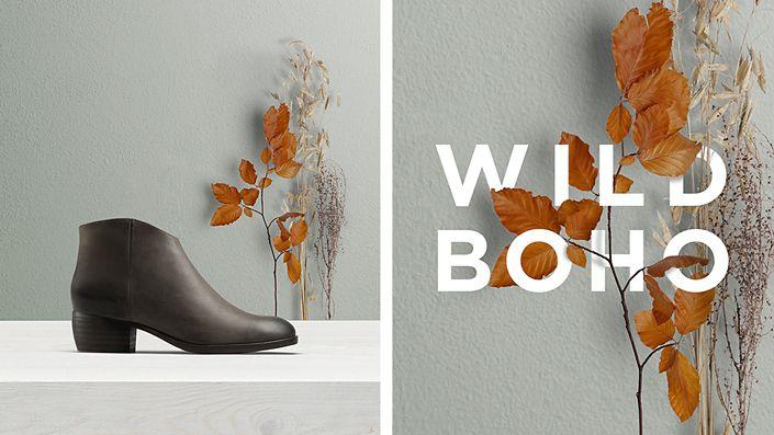 Womens boot- mila myth in grey