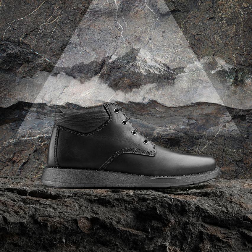 Shop Mens Boots, un larvik top 2 in black leather