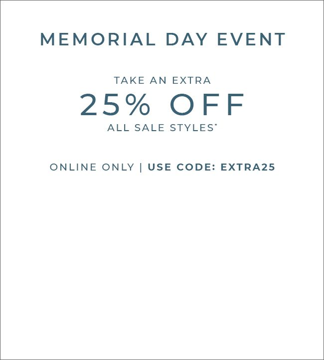 take an extra 25% off all sale styles