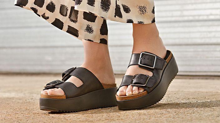 Botanic Slide - Womens Slip-Ons