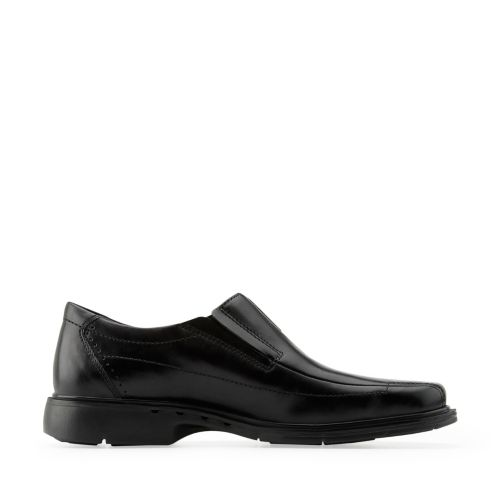 Un.Sheridan Black Leather - Men's Wide Width Shoes - Clarks® Shoes ...