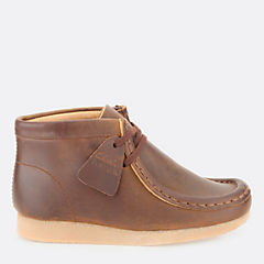 Boys Wallabee Boot Youth Brown Oily boys-view-all