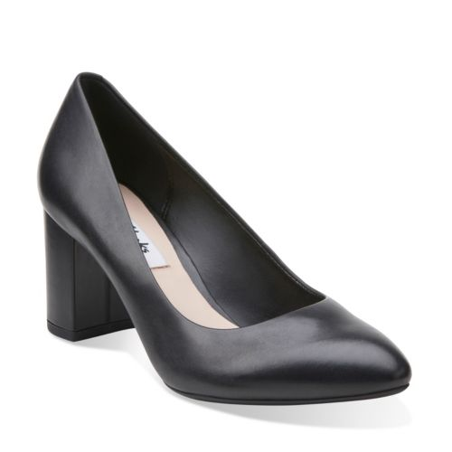 Clarks Blissful Cloud High Heels Color: Black