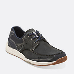 Allston Edge Navy Nubuck mens-casual-shoes
