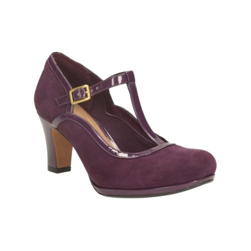 Purple Suede. Chorus Tempo - Wide Fit