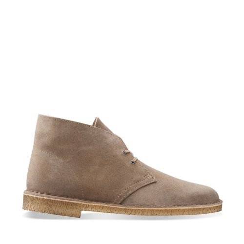 Desert Boot Taupe Distressed Suede Men S Desert Boots Clarks 174 Shoes Official Site