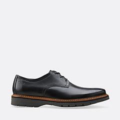 Clarks Shoes Unbyner Easy Dark Brown Mens  Wide