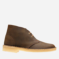 Desert Boot. Beeswax Leather womens-ankle-boots