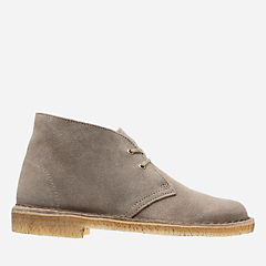 Desert Boot. Taupe Distressed womens-ankle-boots