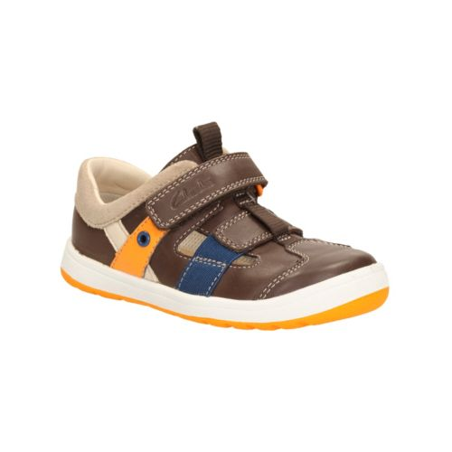 Boys Clarks Maltby Pop Casual Shoes