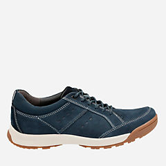 Wavescree Hype Navy Nubuck mens-walking-shoes
