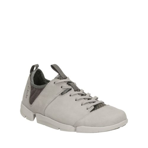 Clarks UK Clarks Tri Active Womens Grey Nubuck