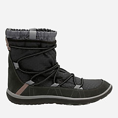 Aria Frost Black Synthetic womens-winter-boots