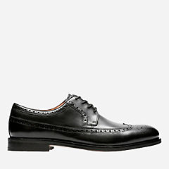 Coling Limit Black Leather mens-dress-shoes