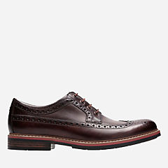 Melshire Wing Cognac Leather mens-ortholite