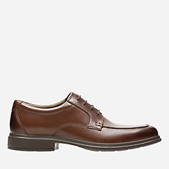 Tifton Step Brown Leather mens-dress-shoes