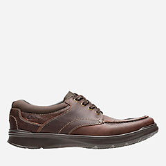 Cotrell Edge Brown Oily Leather mens-casual-shoes
