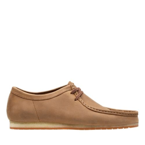 Mens Vintage Style Shoes| Retro Classic Shoes Clarks Wallabee Step - Tan Leather - Mens 7 Medium $59.99 AT vintagedancer.com