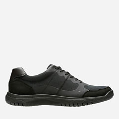 Votta Edge Black Synthetic w/ Black Sole sale-mens-casual-shoes