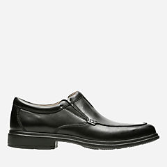 Tifton Step Black Leather mens-dress-shoes