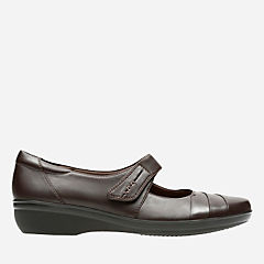 Everlay Kennon Brown Leather womens-narrow-width