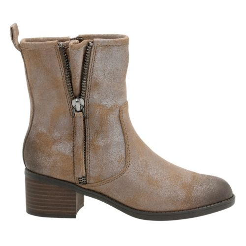 Nevella Devon Dark Taupe Suede womens-midcalf-boots