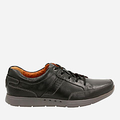 Unlomac Lace Black Leather mens-oxfords-lace-ups