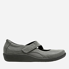 Sillian Bella Grey Synthetic Nubuck womens-narrow-width