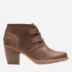 Carleta Lyon Brown Oiled Nubuck womens-ankle-boots