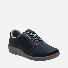 Sillian Emma Navy Synthetic womens-casual-shoes