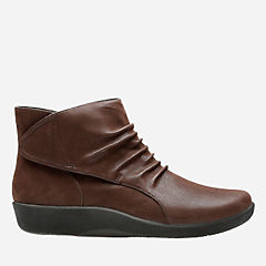 Sillian Sway Brown Synthetic Nubuck womens-narrow-width