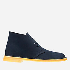 Desert Boot Midnight Suede mens-boots
