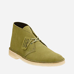 Desert Boot Evergreen Suede mens-boots