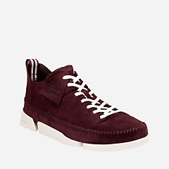 Trigenic Flex Burgundy Suede originals-mens-shoes