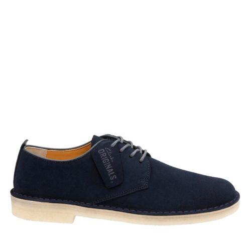 60s Mens Shoes | 70s Mens shoes – Platforms, Boots Clarks Mens Desert London In Midnight Suede 8.5 Medium $125.00 AT vintagedancer.com