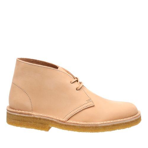 Desert Boot Natural Veg Tan Leather Originals Womens