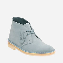 Fantastic Womens Round Toe Real Suede Leather Desert Boots Black Blue Taupe Sizes 3-8 | EBay