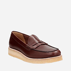 Burcott Loafer Bordeaux Leather originals-mens-shoes