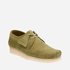 Weaver Forest Green Suede originals-mens-shoes