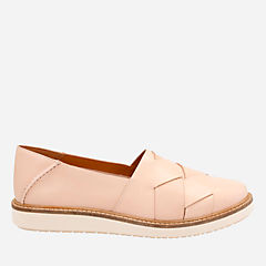 Glick Harvest Nude Leather womens-pink-shoes